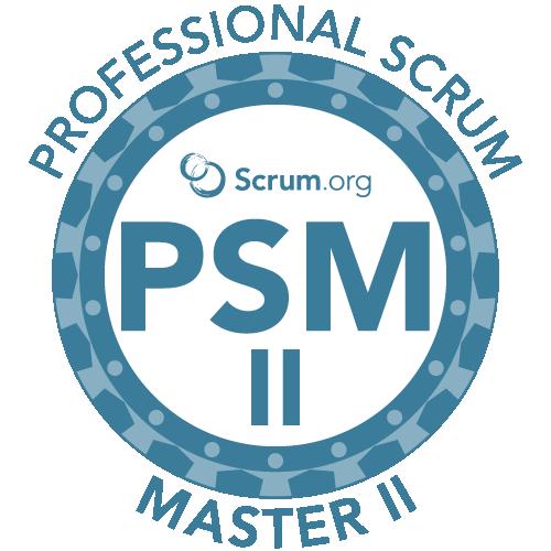 Scrum Master II (PSM II)