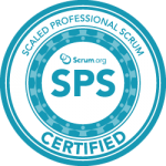 Scaled Scrum Badge