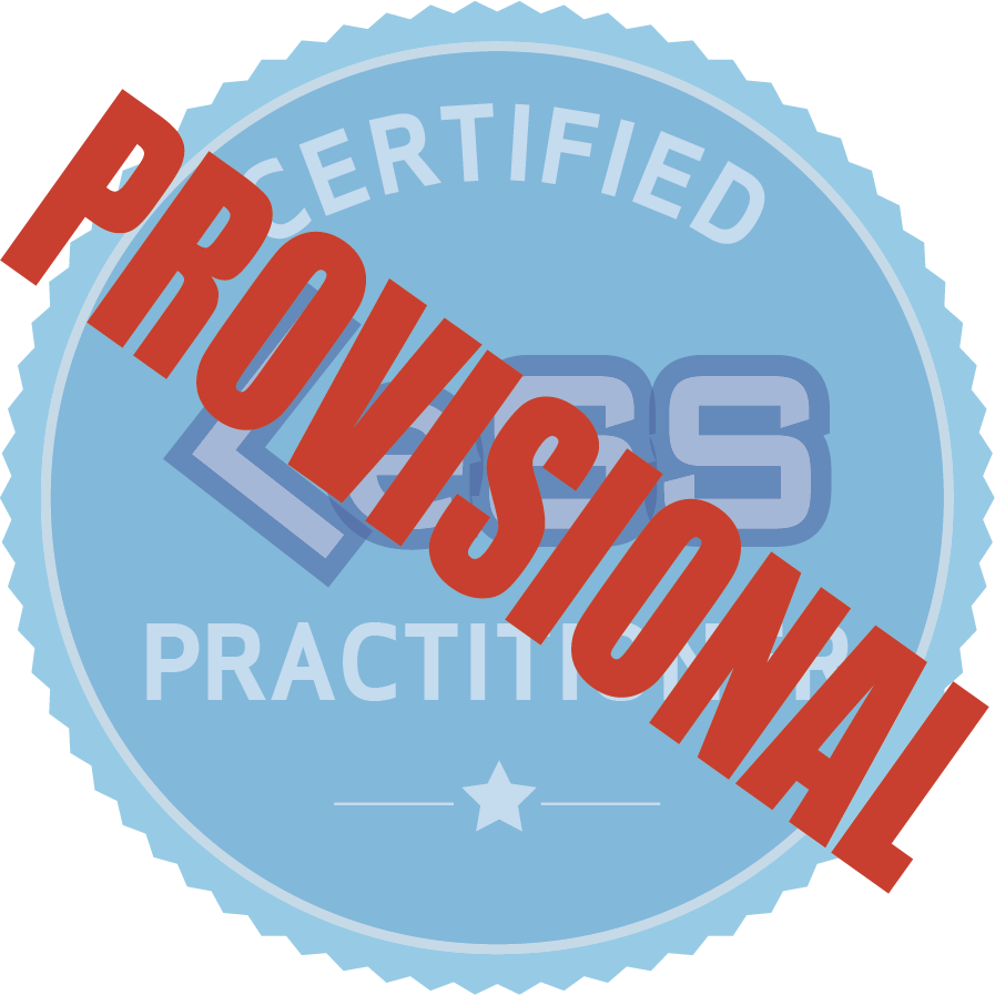 Provisional LeSS Practitioner Training